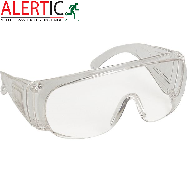 lunettes protection des yeux en chantier alertic. Black Bedroom Furniture Sets. Home Design Ideas